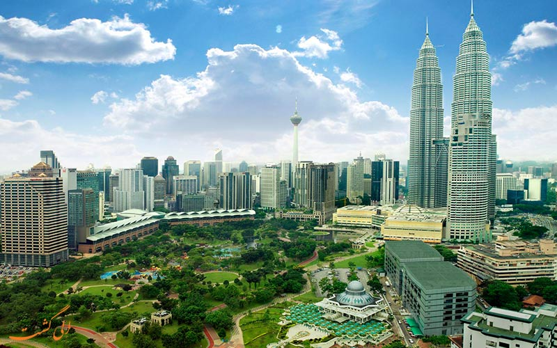 کوله گردی در مالزی