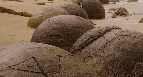 سنگ های نیوزیلند