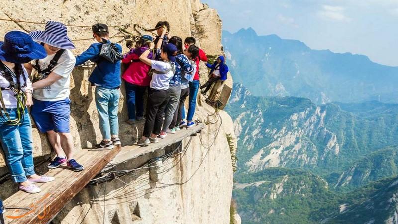 مسیر پیاده روی در کوه هواشان