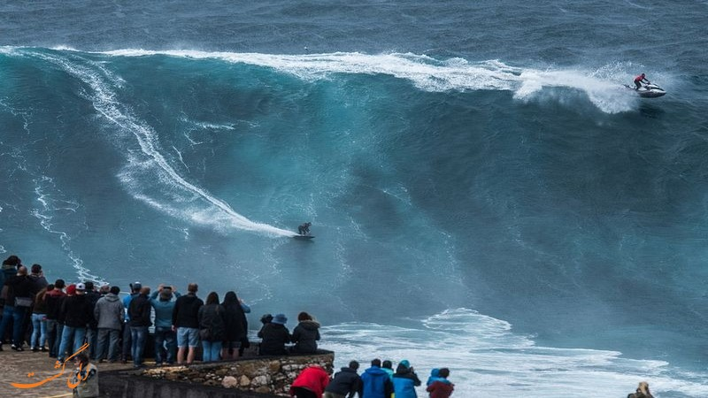 موج سواری نازار در پرتغال
