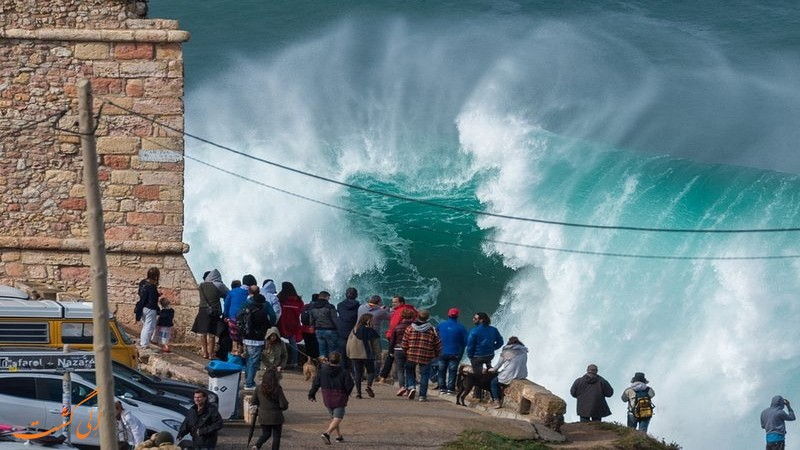 امواج نازار پرتغال