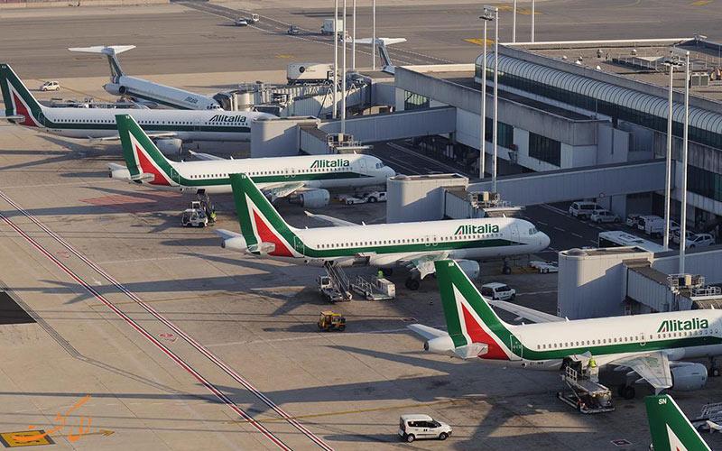هواپیماهای فرودگاه بین المللی فیومیچینو