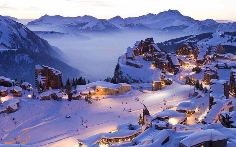 بهترین پیست های اسکی اروپا