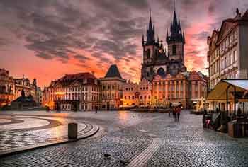 گردش در پراگ