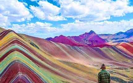 کوه رنگین کمانی