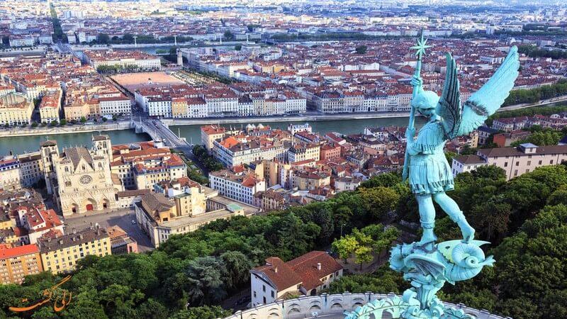شهر لیون در فرانسه