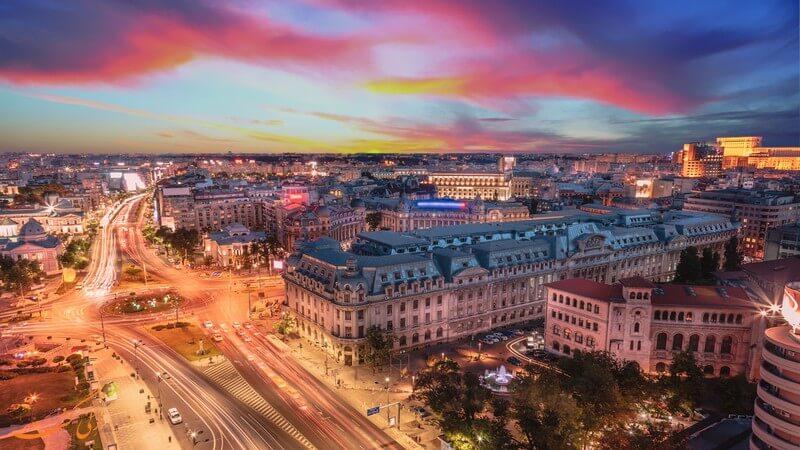 شهر بخارست در رومانی