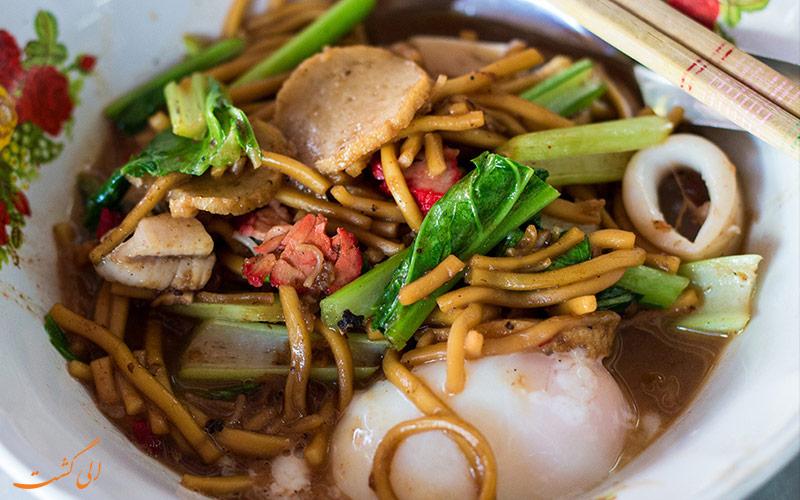 غذاهای جنوبی تایلند
