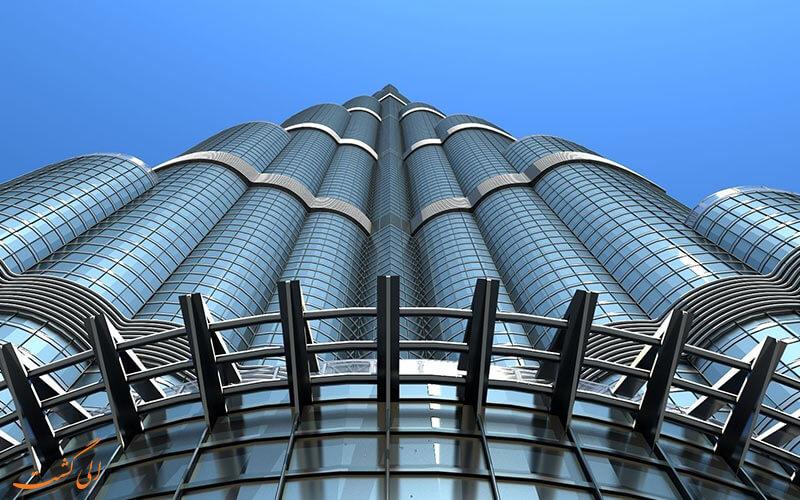 برج زیبای دبی