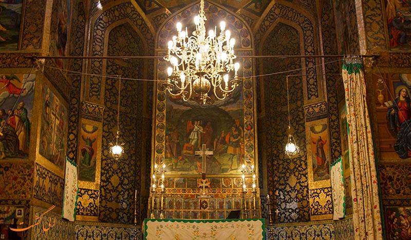 داخل کلیسای وانک