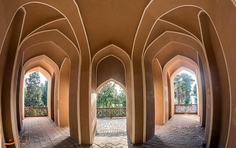 معماری باغ یزد
