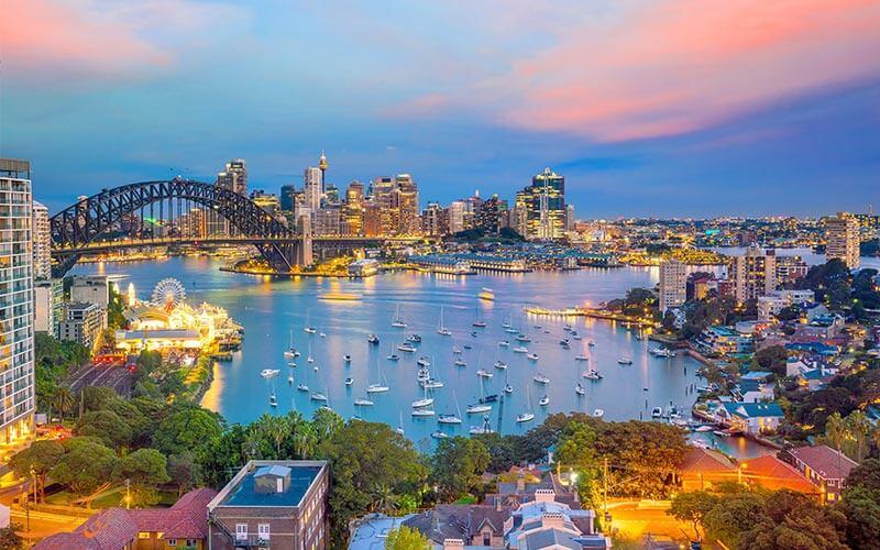 جاذبه های سیدنی