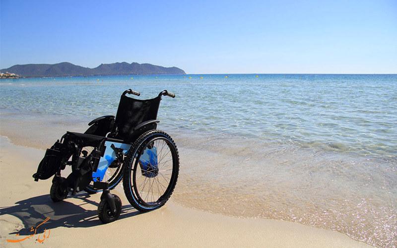 ساحل گردشگری معلولین در کانکون