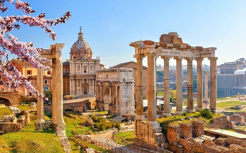 هزینه های سفر به رم