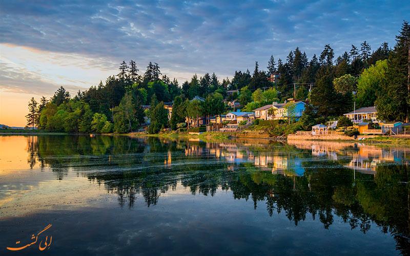 جاذبه های جزیره ونکوور