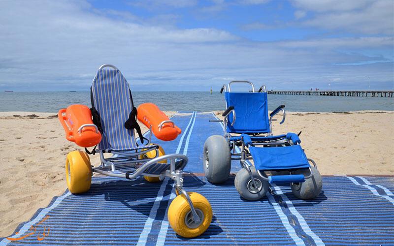 ساحل گردشگری معلولین