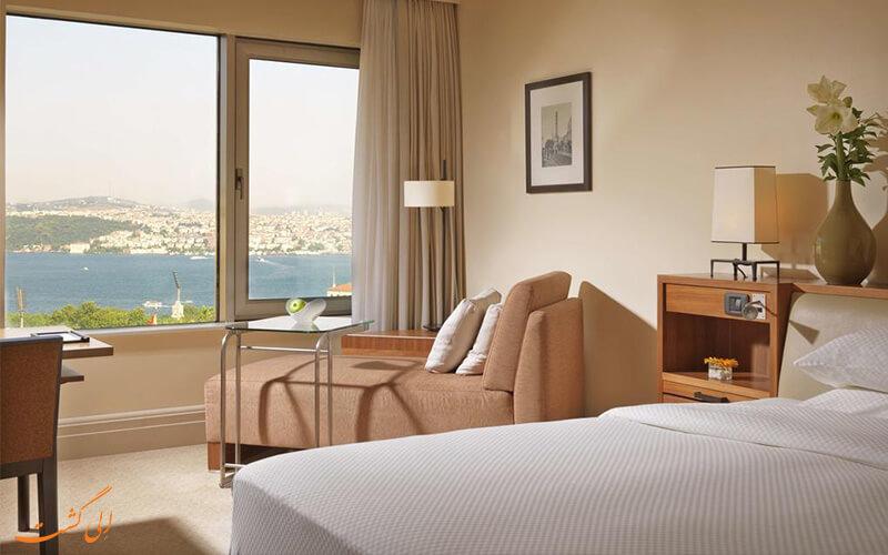 اتاقی در هتل گرند حیات استانبول