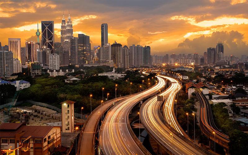 خیابان های مالزی