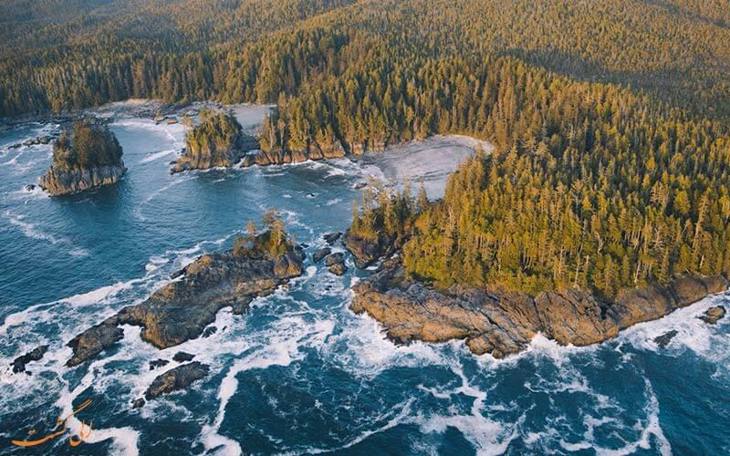 چشمه های آب گرم   جزیره ونکوور
