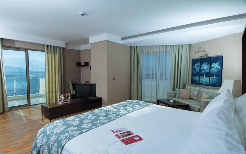 اتاق های هتل رامادا پلازا آنتالیا