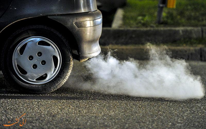 آلودگی هوا ناشی از سوخت ماشین