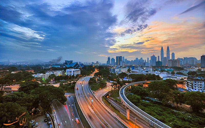 بزرگراه های مالزی