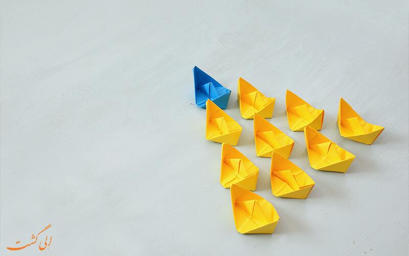 تفاوت مدیریت با رهبری