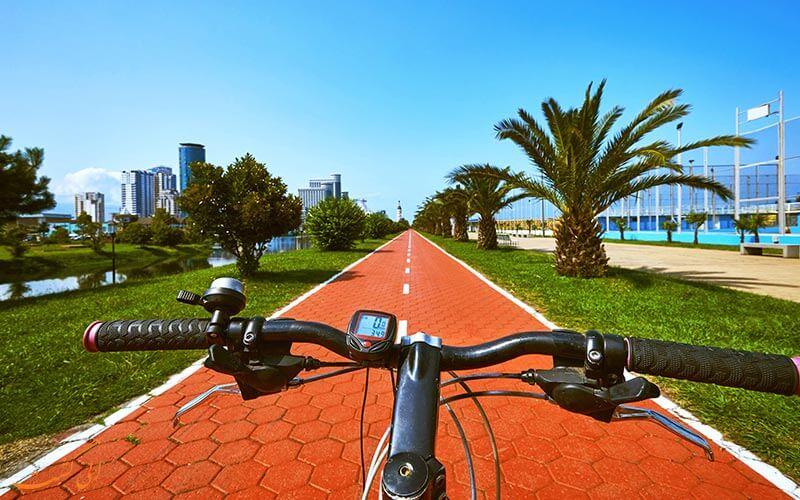دوچرخه سواری در باتومی