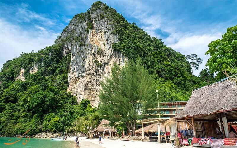 صخره نوردی در جزایر فی فی