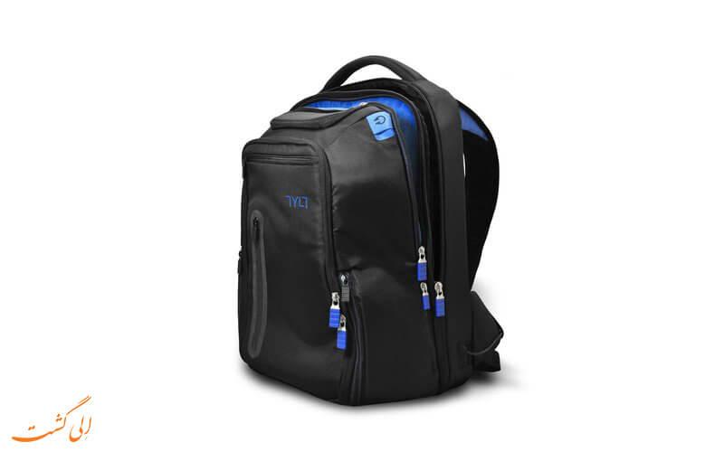 چمدان هوشمند | TyltProPowerbag
