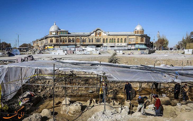 کشف میدان امام همدان