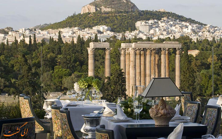 رستوران هتل رویال المپیک