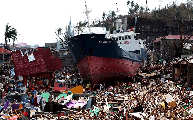 طوفان هایان در کشور فیلیپین