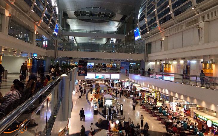 شلوغی فرودگاه دبی