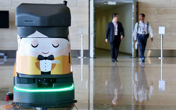 روبات در صنعت هواپیمایی