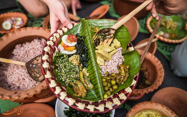 هزینه خورد و خوراک در سریلانکا