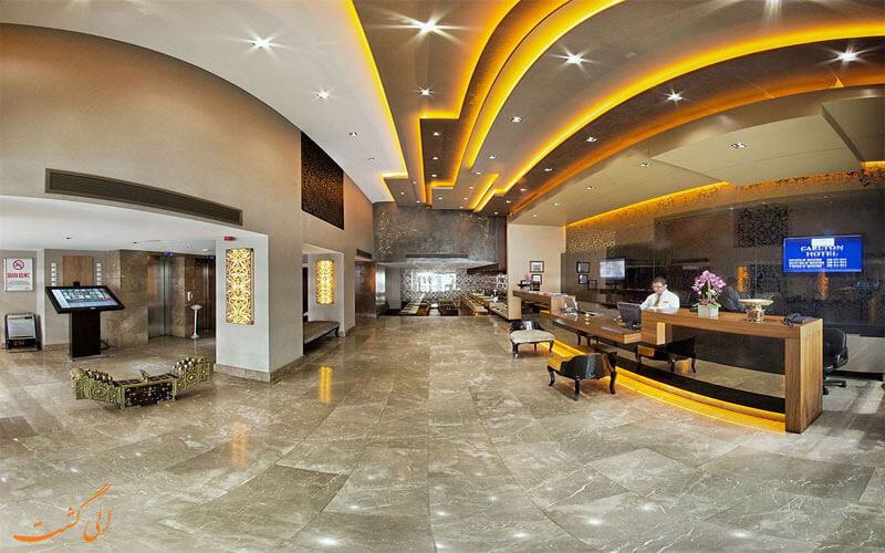 هتل کارلتون استانبول- هتل های 4 ستاره استانبول