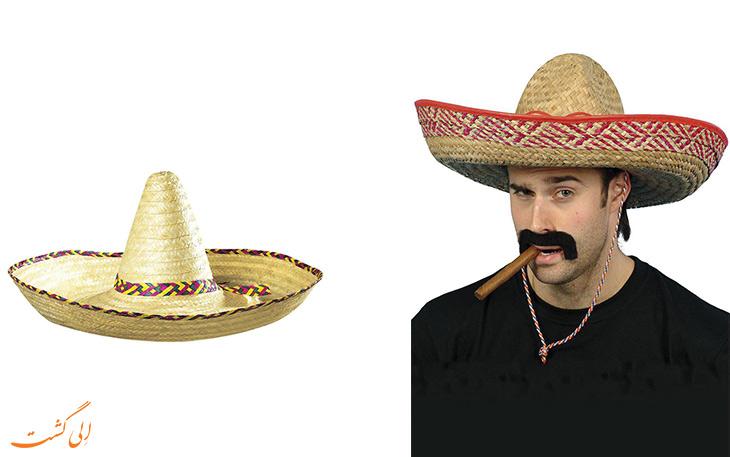 کلاه لبه پهن اسپانیولی(Sombrero)