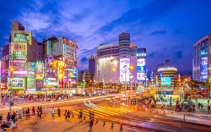 مراکز در تایوان