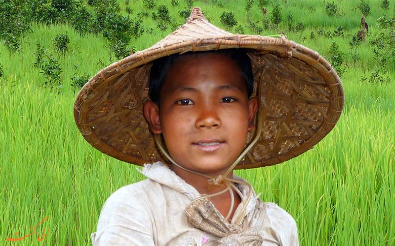 کلاه دست ساز آسیایی