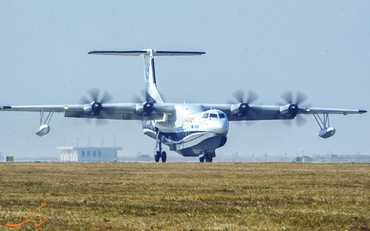 بزرگ ترین هواپیمای دوزیست جهان