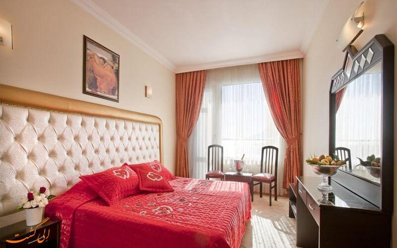 اتاق های هتل آدونیس آنتالیا