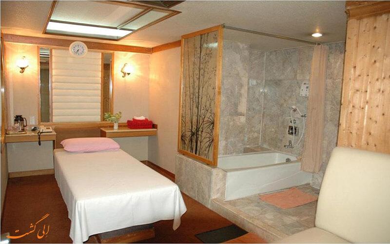 اتاق های هتل آسیا