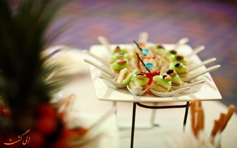 غذاهای هتل آسیا