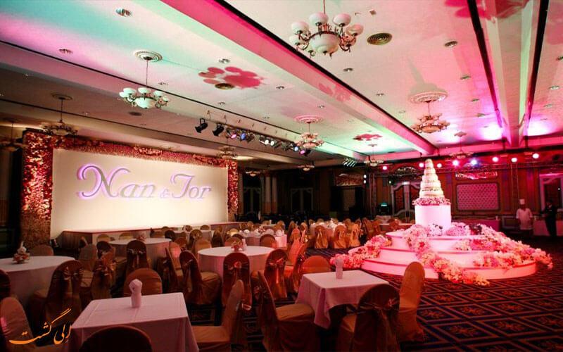 اتاق مهمانی هتل آسیا