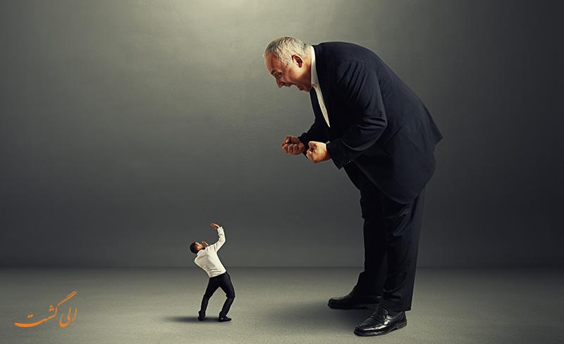 رفتارهای مدیرهای ناکارآمد