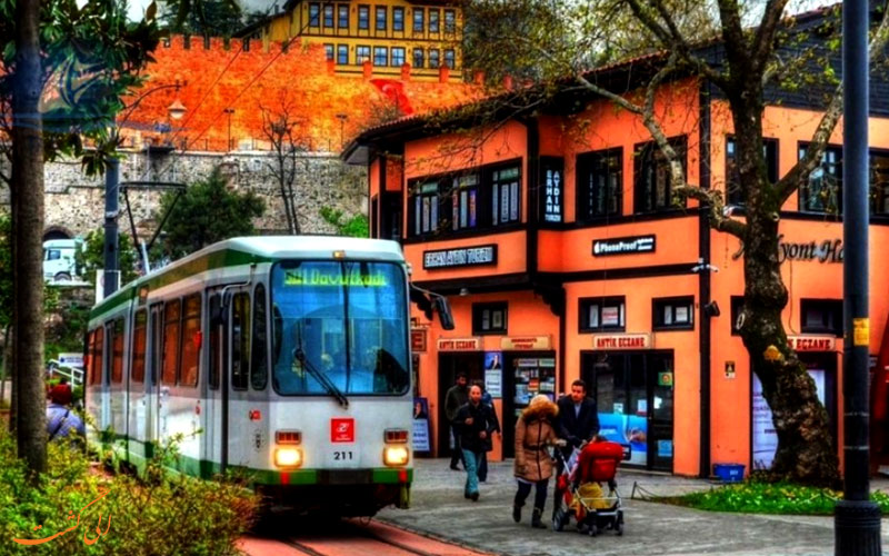 حمل و نقل در بورسا