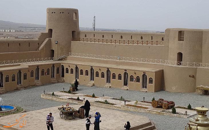 قلعه تمشایی در بیرجند
