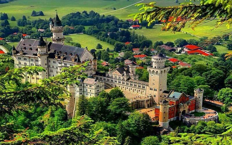 جاذبه های طبیعی کشور آلمان