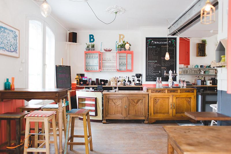 کافه Le Pavillon des Canaux